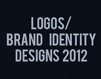 Logos/ Brand Identity Designs 2012
