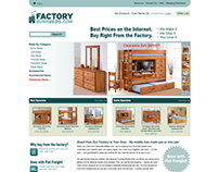 Factory Bunk Beds Site Design