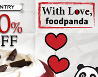 Valentines Day- foodpanda Online Campaign