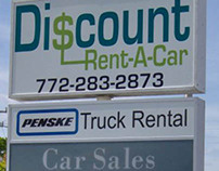 Discount Rent A Car Branding