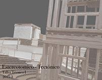 CB_Técnico I: Estereotomico - Tectónico