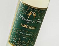 Ménage à Trois Limelight - Brand & Package Design