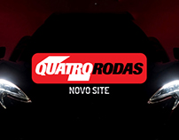 """Quatro Rodas"" New Website Campaign"