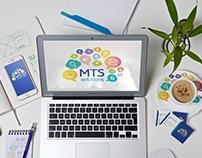 MTS solutions branding identity