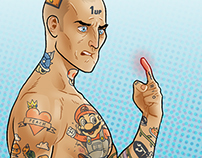 The Most Painful Tattoos – Infographic