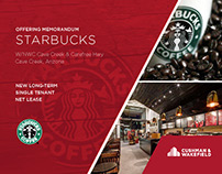 Starbucks Lease Package, Cave Creek