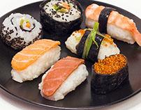 sushi mock up