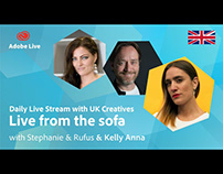 Adobe Live from the sofa UK with Kelly Anna