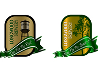 Longwood Brewery Labels