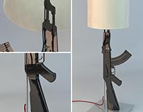 Carbon Fiber AK-47 Lamp