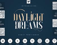 Daylight Dreams - Serif Font + Extras