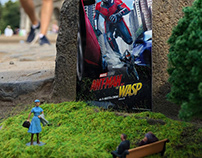 Ant-Man & the Wasp:The smallest billboard in the world