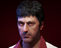 Al Pacino as Tony Montana from Scarface