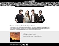 Nero su Bianco // Music band wesite