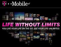 T-Mobile Life Without Limits Mobile Campaign