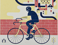Biking Posters