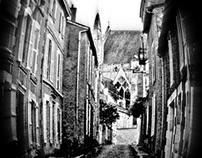 Poitiers b&w
