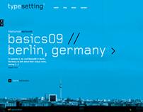 WEBSITE  |  typesetting.tv
