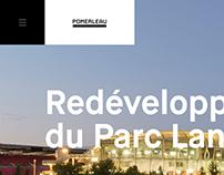 Pomerleau — Website Redesign