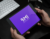 BMI calculator app prototype