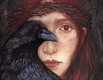 Crow girl-novel cover