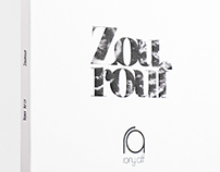 RONY AFIF CD PACKAGING AND POSTER DESIGN