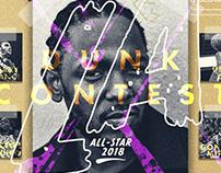 NBA Dunk Contest Concept Poster