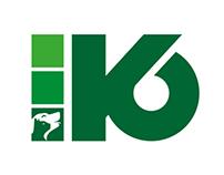 Logo K6 - Colonie de vacance pour chien et chat