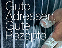 GUTE ADRESSEN - COOKING/RECEIPE BOOK