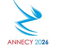 Logo JO hiver Annecy 2026