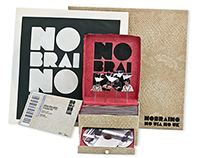 NOBRAINO//Packaging Artwork CD