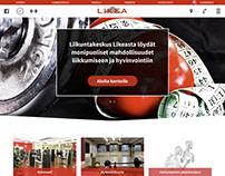Liikuntakeskus Likea Web Design