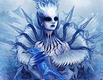Lady Winter - Fangold TCG Art