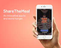 ShareTheMeal - a mobile app to end world hunger!