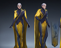 Valerian costume design