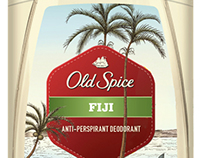 Old Spice Deodorant Label Illustrations...