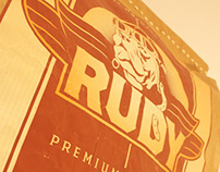Rudy Dog food Branding