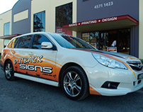 Outback Signs - Car Wrap Signage