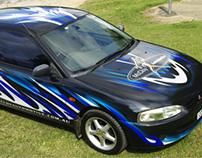 McCloy Auto - Car Wrap Signage