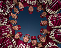 Roosevelt High School Baseball Portraits