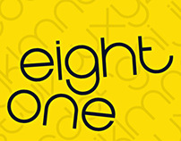 Eight One Typeface