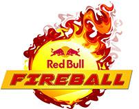 Redbull Fireball Logo and Poster