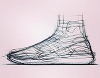 Y-3 concept sketches, overlapping