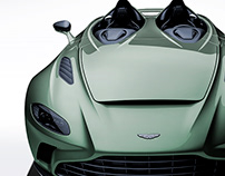 2020 Aston Martin V12 Speedster Rough Emerald