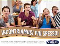 Kraft - Sottilette   Europeans activation charts