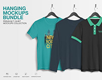 Hanging Apparel Mockups Bundle