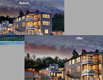 Photo Retouching at Richmond American Homes