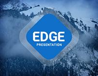 Edge Minimal Powerpoint Template