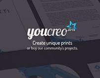 YouCreo - Create unique prints