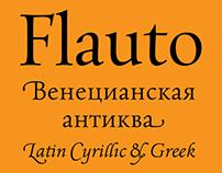 Flauto typefamily